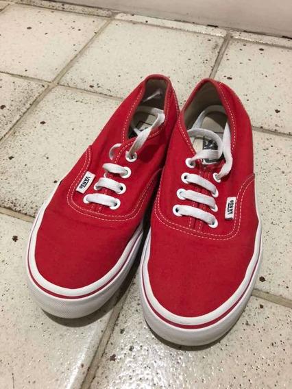 Tênis Vans Original Vermelho Semi Novo