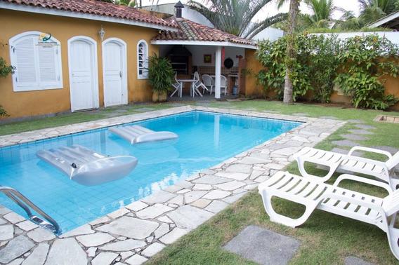 Casa Para Alugar No Bairro Acapulco Em Guarujá - Sp. - En476-3