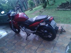 Honda Cb 300 Vermelha Ano 2013