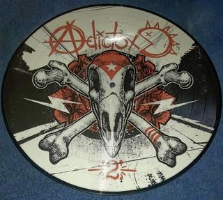 Adictox 2 Disco Lp Picture Punk Cuba Solo 60 Copias Raro