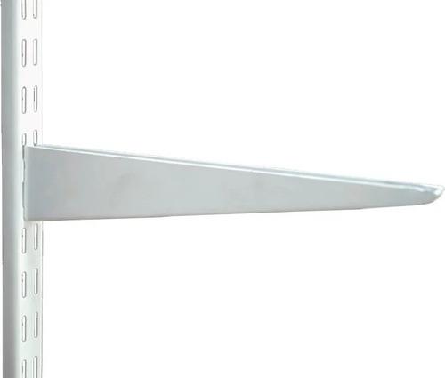 Mensula Metalica Reforzada De 47cm Para Riel Doble Engache