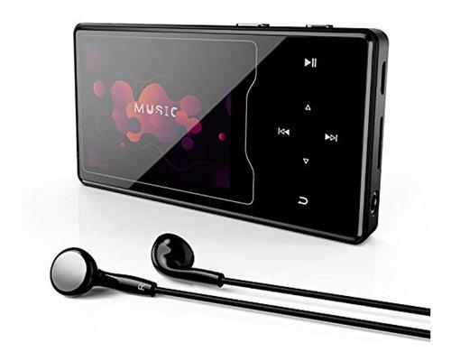 Reproductor De Mp3, 16 Gb Mp3/mp4 Con Bluetooth 4.2, Portáti