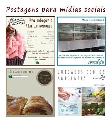 Artes Para Postagens - Whatsapp, Facebook E Instagram
