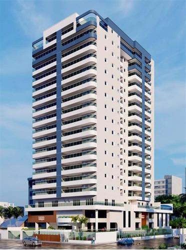 Apartamento, 3 Dorms Com 214.52 M² - Centro - Mongagua - Ref.: Ctm572 - Ctm572