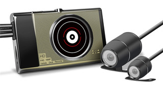 Vsys M1 1080p Hd Wifi Recorder Dash Moto Cámara Dvr T2 Versi