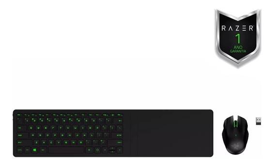 Combo Gamer Razer Turret Lapboard Mouse Para Sala De Estar