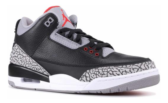 Jordan 3 Black Cement 42 A Pronta Entrega