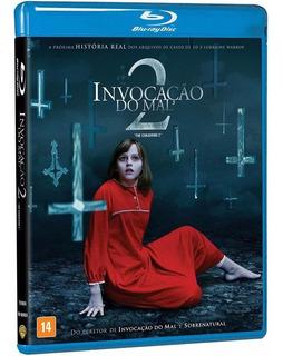 Blu-ray Invocação Do Mal 2 - Original ( Lacrado)
