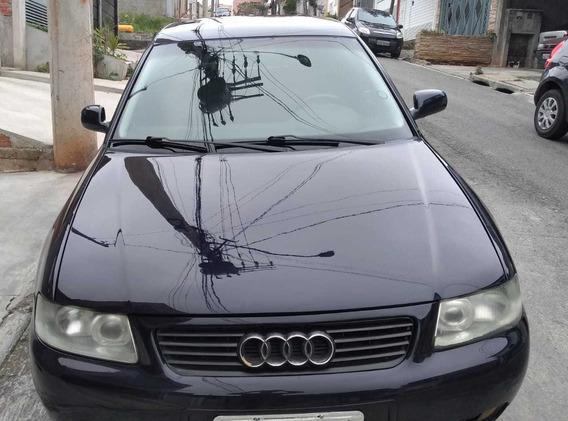 Audi A3 Azul Gasolina 2003 Automática Completa - R$ 10 500,0