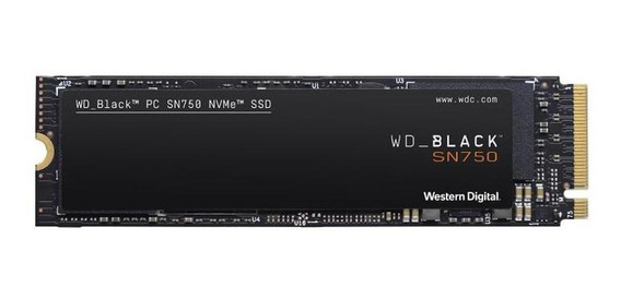 Disco Estado Sólido Wd Ssd Black Sn750 1tb M2 Interno Nvme