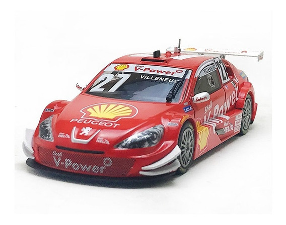 Peugeot 408 Stock Car 27 Jacques Villeneuve Escala 1/43
