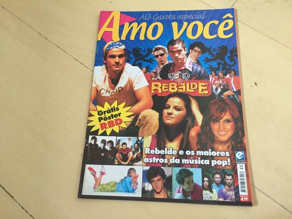 Revista Especial Rebelde Mexicano 34 Novela Músicas G599