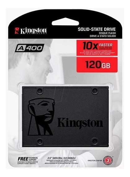 Ssd Kingston 120gb Sata3 6gb/s (33vrds] Super Precio