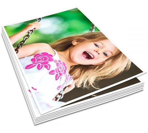 Papel Fotográfico 10x15 265g Glossy Branco Brilho 200 Folhas