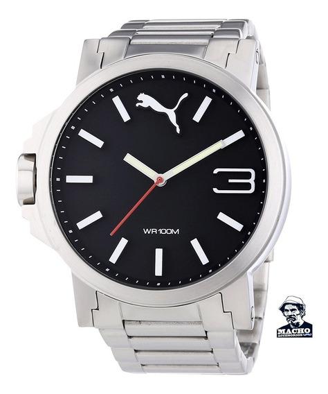 Reloj Puma Ultrasize Xl Pu103461003 Original Caja Garantia