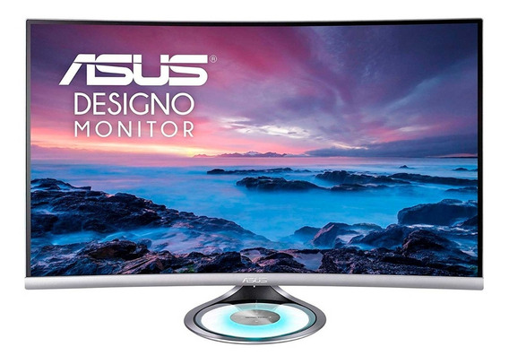 Monitor Gamer Curvo Asus Designo Mx32vq Led 31.5 Quad Hd