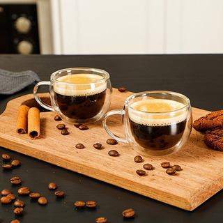 Conjunto De Duas Xícaras Para Café Mimo Style