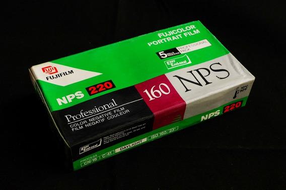 Filme Fujicolor Nps 160 - Formato 220 - Caixa Com 5 Unidades