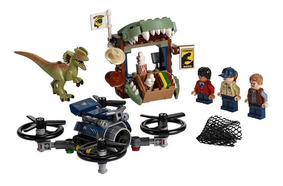 Lego Jurassic World - Dilophosaurus À Solta