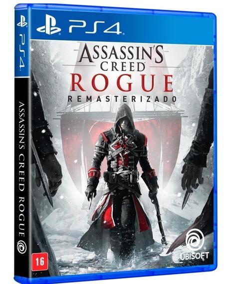Assassins Creed Rogue Remasterizado - Ps4 - Novo - Português