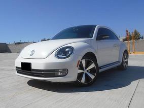 Volkswagen Beetle 2.0 Turbo Dsg 7v At 2013 Blanco
