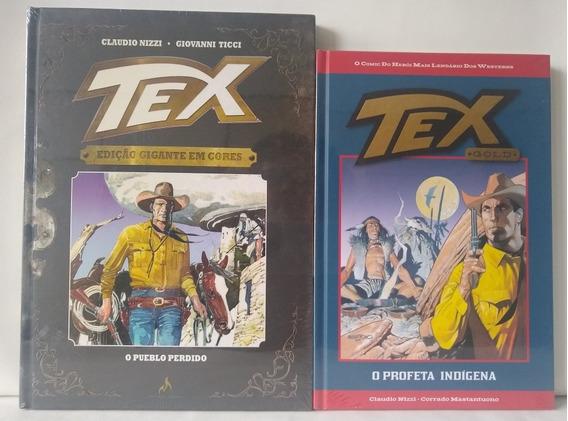 Kit Com 2 Quadrinhos Tex - Capa Dura