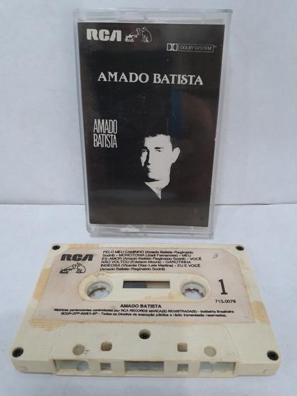 Fita K7 / Amado Batista / Escuta / Ano 1989