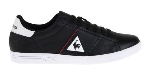 Tenis Casuales Le Coq Sportif Court Shot 266 Color Negro