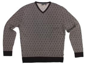 Sweater Hugo Boss Xl Slim Fit Extra Grande Wool Original