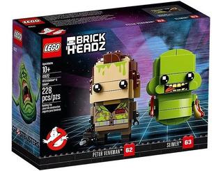 Lego Brick Headz Ghostbusters Venkman Y Pegajoso 41622