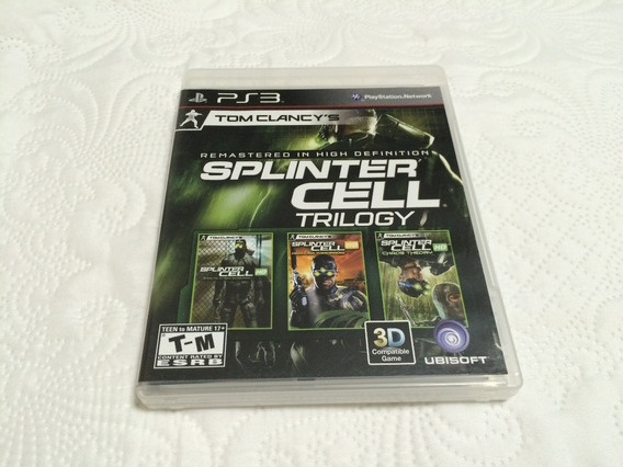 Splinter Cell Trilogy Remasterizado Em Hd