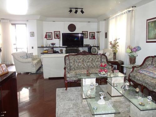 Apartamento À Venda, 242 M² Por R$ 1.970.000,00 - Parque Santa Cecília - São Paulo/sp - Ap9070