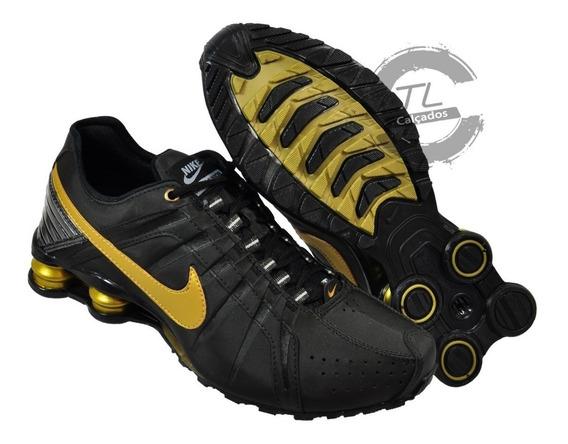 Tênis Nike Sxhox Junior Couro Amortecedor Academia Garantia