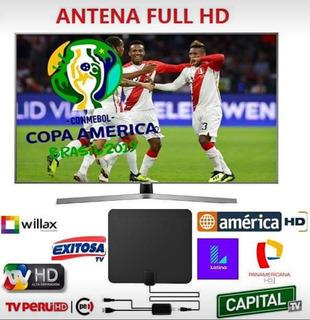 Antena Más Amplificador De Señal