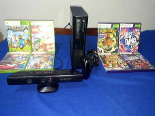Xbox 360 E + 59 Juegos + Kinetic