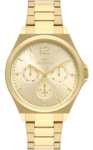 Relógio Feminino Technos Dourado Fashion Trend 6p29akc/4x