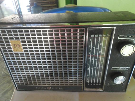 Radio Portátil Antigo General Eletric 5 Faixas Funcionando
