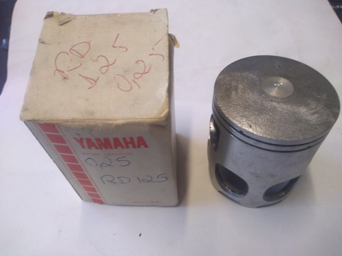 Pistão Rd 125 0,25 Original Yamaha