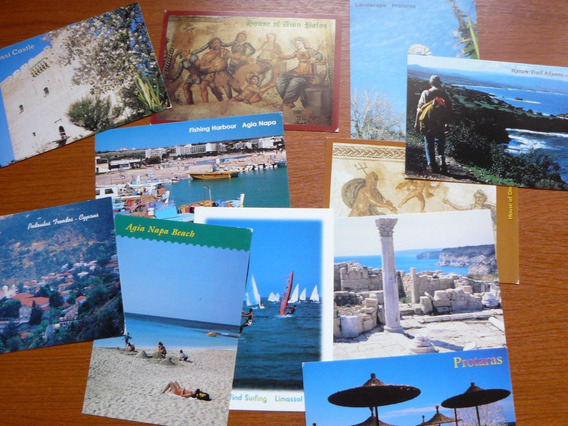 11 Enteros Postales De Chipre