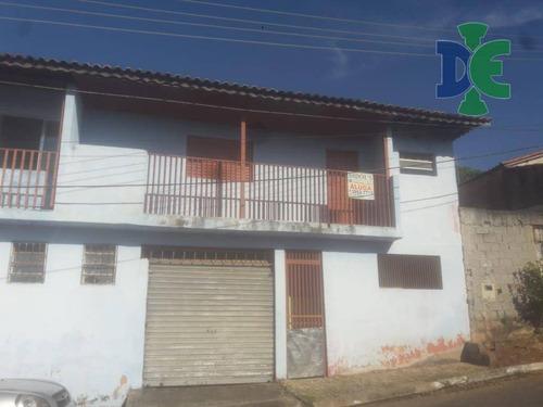 Casa Com 2 Dormitórios Para Alugar, 98 M² Por R$ 750,00/mês - Jardim Pedra Mar - Jacareí/sp - Ca0328