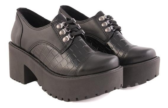 Zapatos Botinetas Plataforma Mujer Savage Mb100