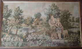 Tapete Antigo Gobele Francês 114x65cm