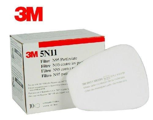 Para 3m 5n11 Com - 6200 Respirador 5 Pares Caixa Filtro N95