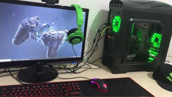 Computador Gamer ( Só A Cpu, 2 Anos De Uso)