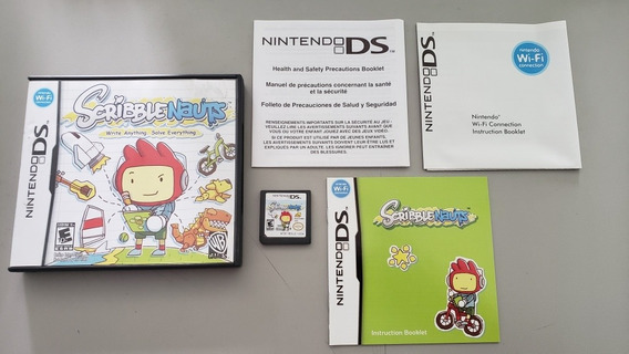Scribblenauts Original Usa Nintendo Ds