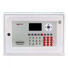 Central Alarme De Incêndio Endereçável 125 Setor Com Bateria