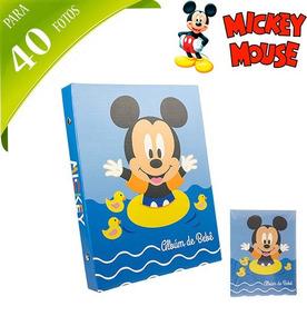 Album De Fotos Infantil Mickey Para 40 Fotos 10x15