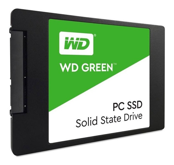 Ssd Wd Green Sata Iii 480gb Wds480g2g0a 2.5 7mm