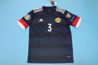 Camisa Escocia Euro 2020 Robertson 3