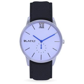 Reloj Con Cristal De Zafiro Y Máquina Miyota White Black